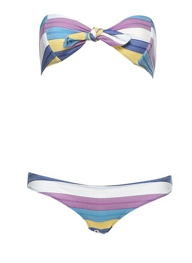 Lisa Marie Fernandez Bikini Renkli
